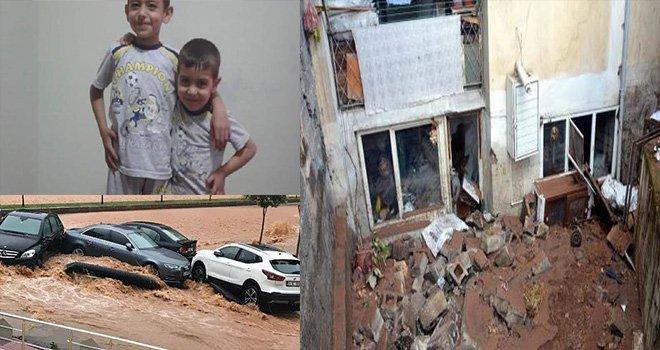Sel faciası: Anne ve 2 çocuğu bodrum kattaki dairede boğuldu