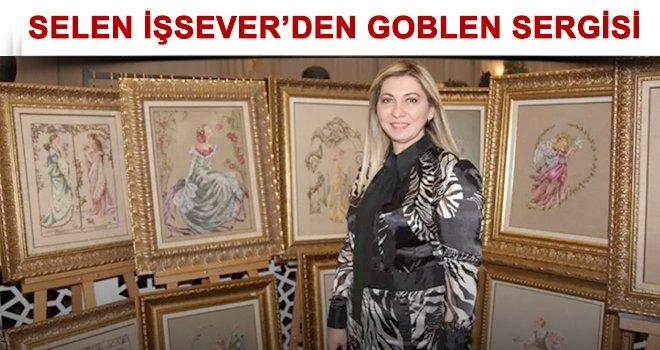 Selen İşsever'den anlamlı goblen sanat sergisi