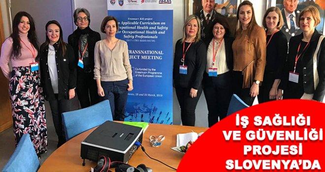 Slovenya'da, iş sağlığı ve güvenliği projesi