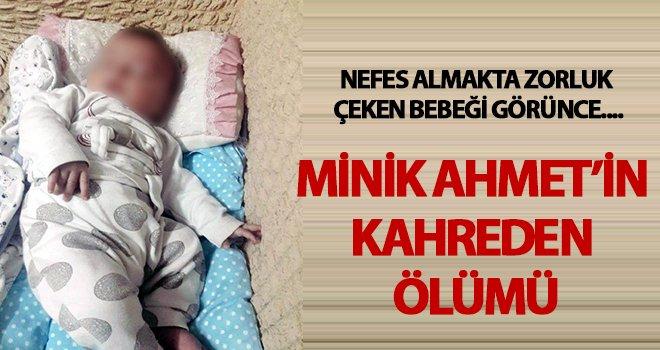 Soluk borusuna mama kaçan 2 aylık bebek öldü