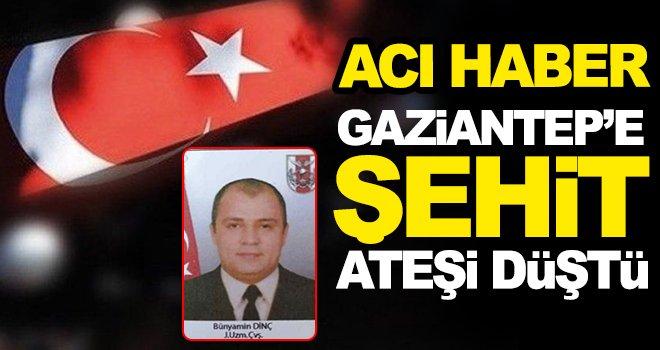 Son Dakika! Gaziantep'e şehit ateşi düştü