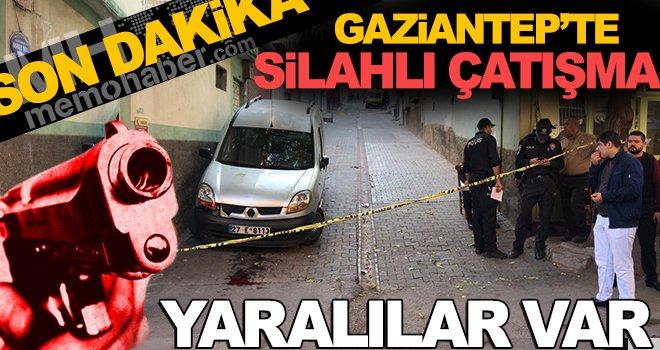 Son Dakika! Gaziantep'te sokak ortasında çatışma