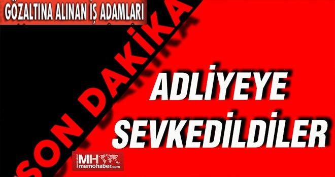 Sorgulanmak için Gaziantep'ten Ankara'ya götürüldüler