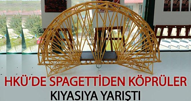 Spagettiler köprü oldu