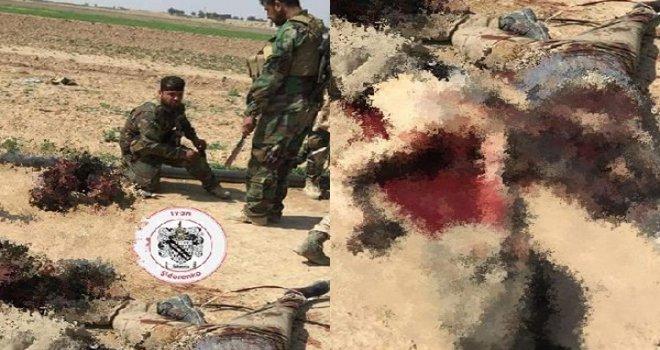 Suriye'de kafa kesen kesene!..