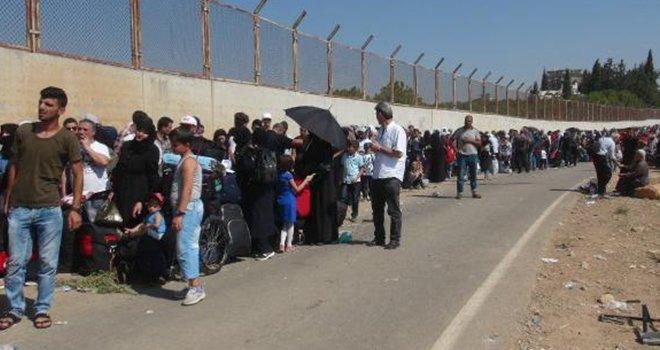 Suriye'ye giden sığınmacıların sayısı 15 bini aştı