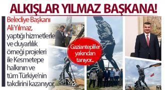 Belediye Başkanı Ali Yılmaz, tüm Türkiye'nin takdirini kazanıyor