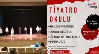 Gaziantep Büyükşehir Belediyesi Şehir Tiyatrosu, Tiyatro Okulu açıyor