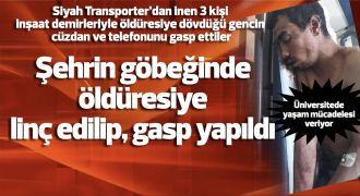 Gaziantep'in göbeğinde gasp dehşeti...