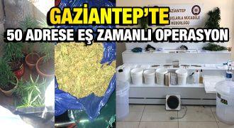 Gaziantep'te yine uyuşturucu yakalandı