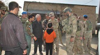JÖH ve PÖH'ler, Afrin'de sivillerin sorunlarını dinledi