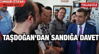 MHP'li Taşdoğan milleti sandığa davet etti