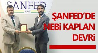 ŞANFED başkanlığına Nebi Kaplan seçildi