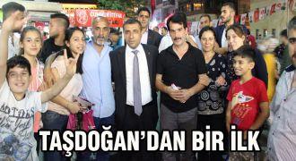 MHP'li Taşdoğan'dan bir ilk