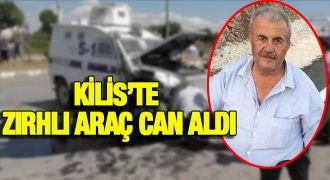 Zırhlı polis aracın çarptığı kişi öldü, torunu yaralandı