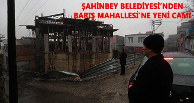 Tahmazoğlu, İmam-ı Azam Cami'nin inşaat çalışmalarını inceledi