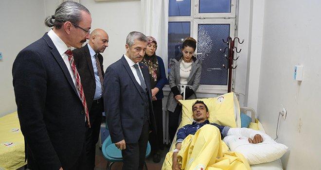 Tahmazoğlu: Mehmetçiklerimizin yanındayız
