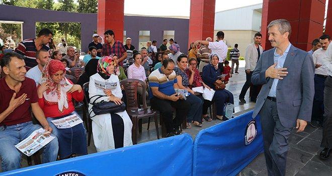 Başkan Tahmazoğlu'ndan müjde: Büyük gün 2 Nisan