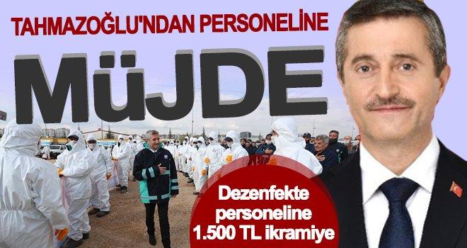 Tahmazoğlu'ndan personellerine ek ödeme!..