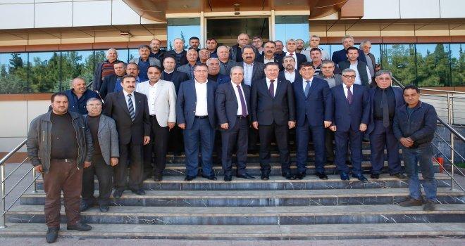 Tayyar ile Fadıoğlu'na Küsget üyelerinden tam destek