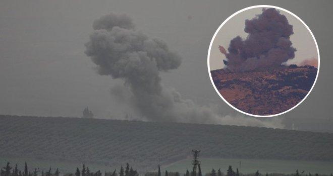 Terör örgütü hedefleri bombalandı