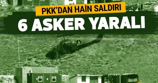 Terör örgütü PKK'dan alçak saldırı!