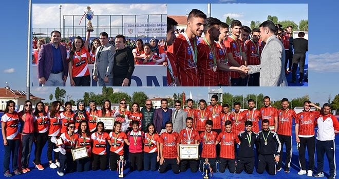 THF Başkanı Karakan  Avrupa Şampiyonlarını kutladı
