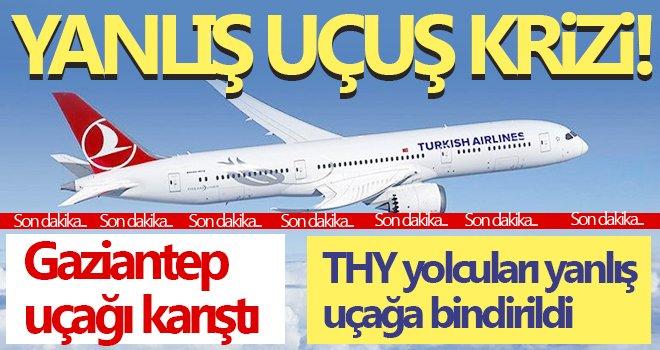 THY yolcuları yanlış uçağa bindirildi! Ortalık karıştı