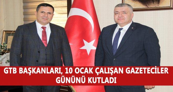 Tiryakioğlu ve Akıncı'dan, '10 Ocak Çalışan Gazeteciler Günü' mesajı