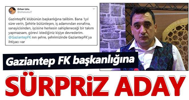 Tiyatrocu Orhan Uslu adaylığını açıkladı!
