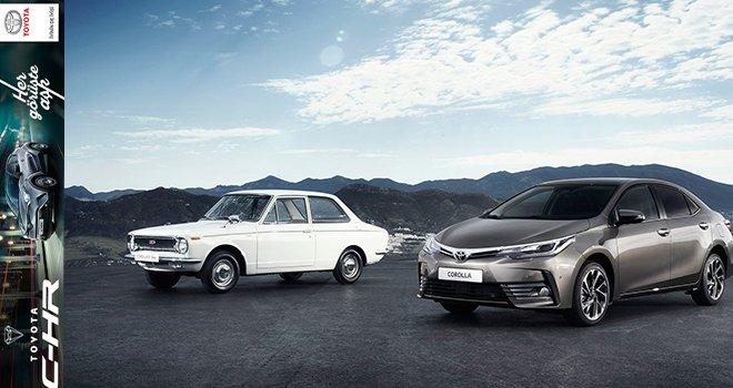 Toyota Plaza Muhittinoğlu'na gelin Corolla'nın 50.Yıl versiyonunu test edin…