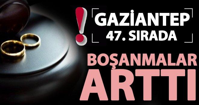 TÜİK açıkladı! Gaziantep'te kaba boşanma hızı arttı
