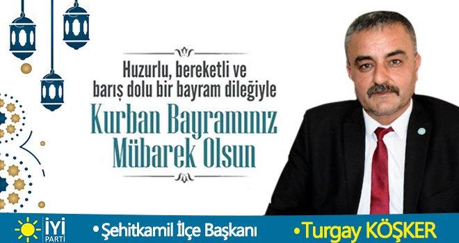 Turgay Köşker'den Kurban Bayramı mesajı