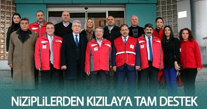 Türk Kızılay Gaziantep Şube Başkanı'ndan NTO'ya ziyaret