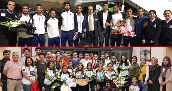 Türk Milleti Avrupa şampiyonlarını bağrına bastı