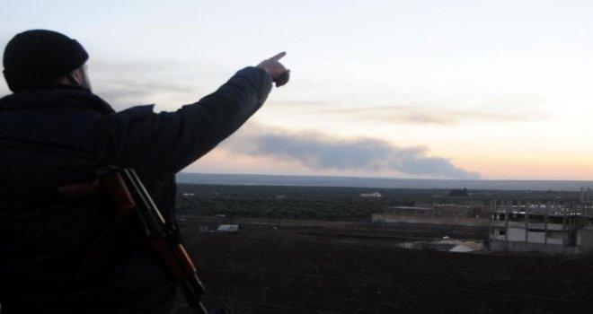 Türk savaş uçakları Afrin'deki PYD mevzilerini vuruyor