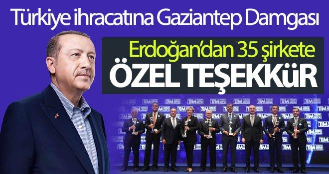 Türkiye ihracatına Gaziantep damgası