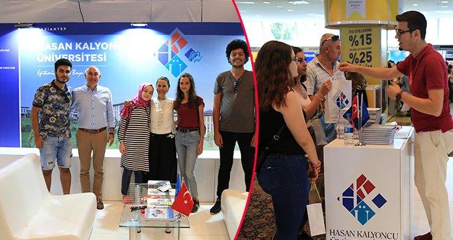 Türkiye'nin en büyük eğitim fuarında HKÜ'ye yoğun ilgi