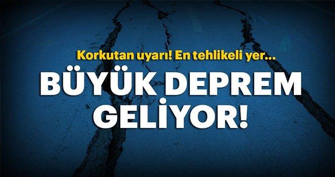 Türkiye'ye Korkutan Deprem Uyarısı