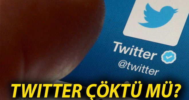 Twitter çöktü, kullanıcılar isyanda