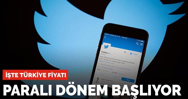 Twitter'da paralı dönem başlıyor!