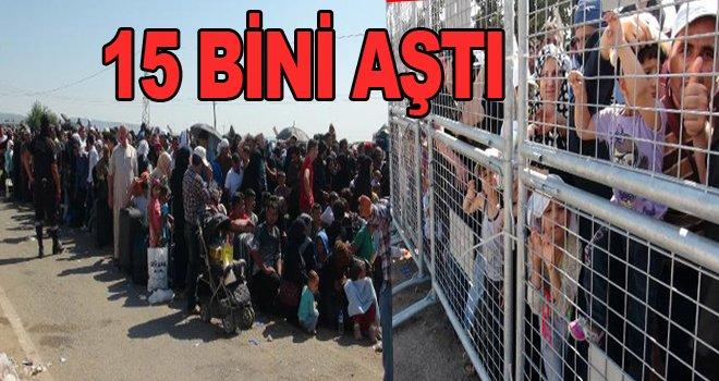 Ülkesine dönen Suriyeli sayısı 15 bini aştı