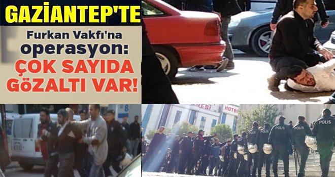 Ulu cami önünde eylem yapmak istediler: polis müdahale etti