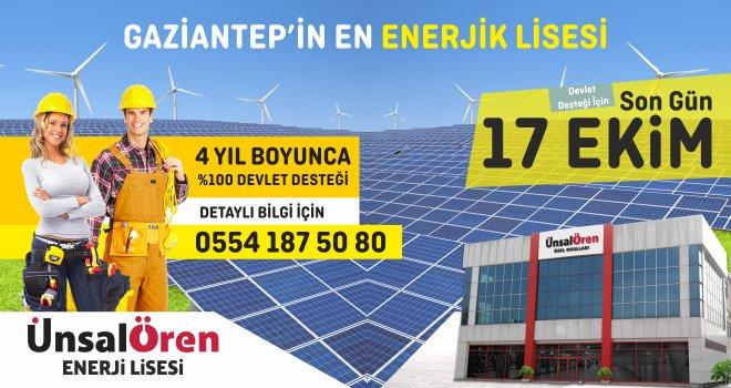Ünsal Ören Enerji Lisesi Reklam