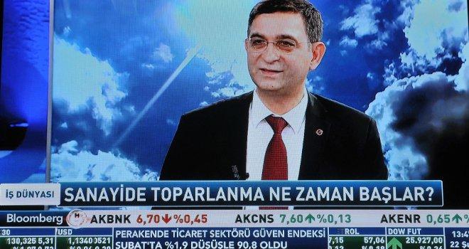 Ünverdi, Gaziantep'in üretim gücünü canlı yayında anlattı