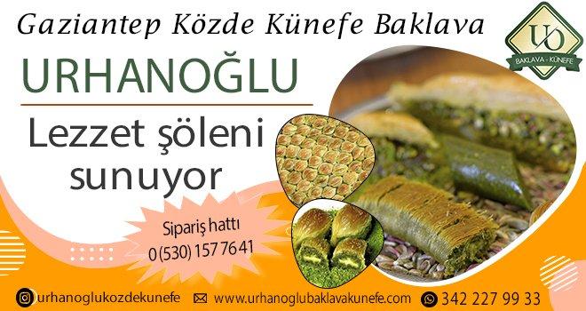 Urhanoğlu baklava Reklam