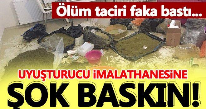 Uyuşturucu imalathanesine baskın: 1 tutuklama