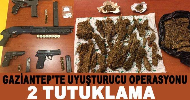Uyuşturucu ticareti yapanlara operasyon: 2 tutuklama