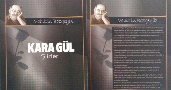 Vahittin Bozgeyik'in 'Karagül' kitabı yeniden basıldı