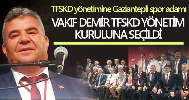 Vakıf Demir TFSKD yönetim kuruluna seçildi